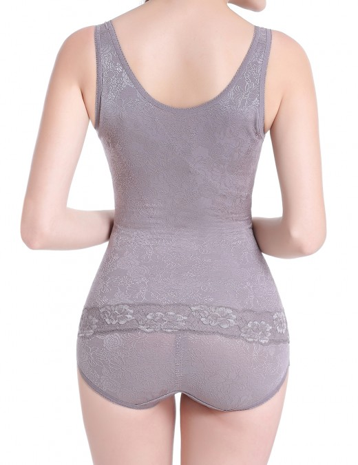 Sculpting Grey Queen Size Underbust Shaping Tank Seamless Postpartum Recovery