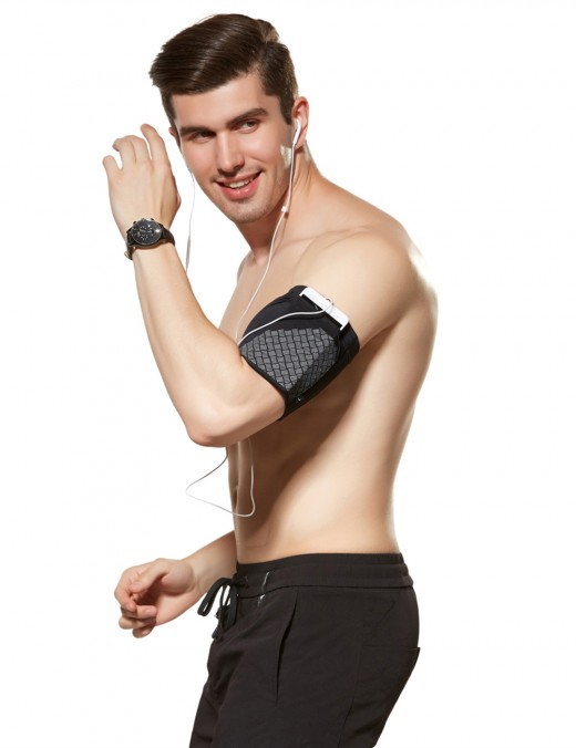 Kinetic Black Adjustable Mobile Phone Arm Bag Running Super Sexy