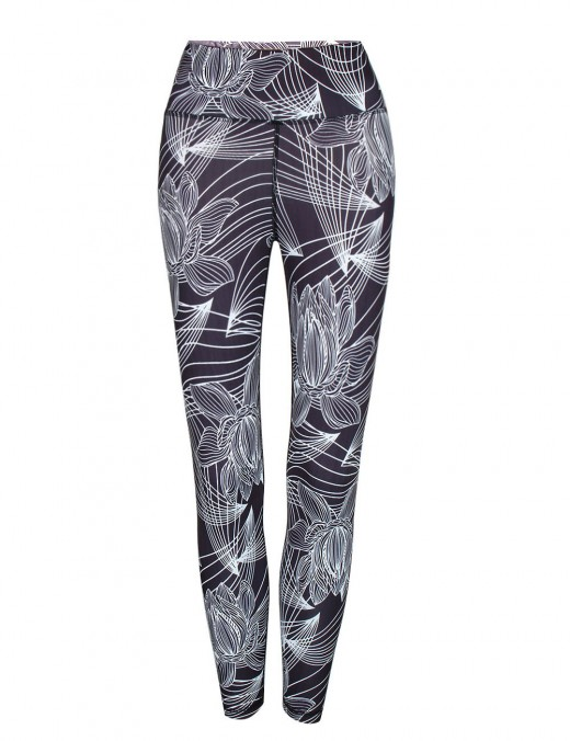 Activewear Digital Printing Leggings  Long Fitness