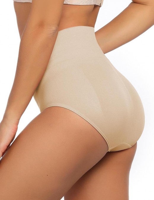 Haute Contour Nude High Rise Seamless Butt Enhancer Warm Abdomen Tight Fit