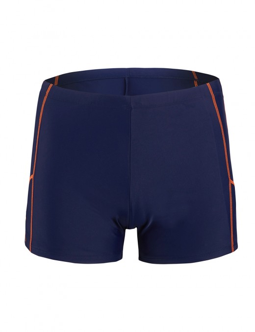 Elegance Large Size Male Swimwear Square Cut Fashion Trend