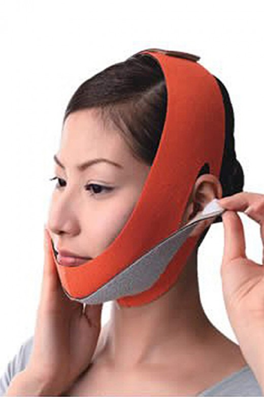 Anti-Aging Chin Up Lift Orange Face Slimmer Band