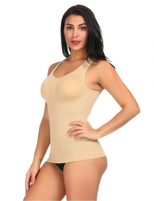 Miracle Camisole Close Fitting Nude Body Shaper Vest Wireless Breathable