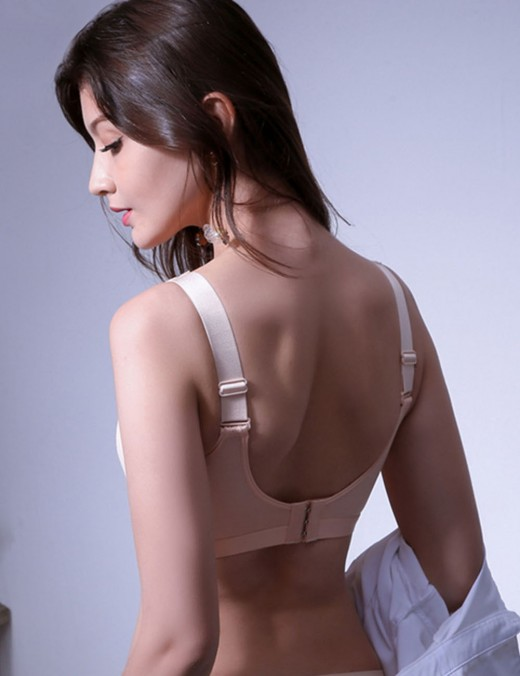 Remarkable Skin Padded Open Back U Neck Active Bra Sport Series