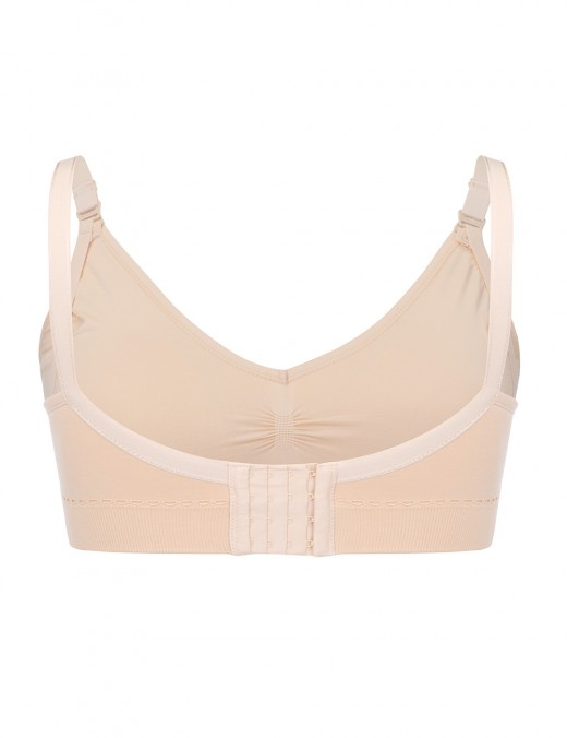Flirty Skin Full Busted Wire-Free Clip Down Motherhood Bra Elasticity