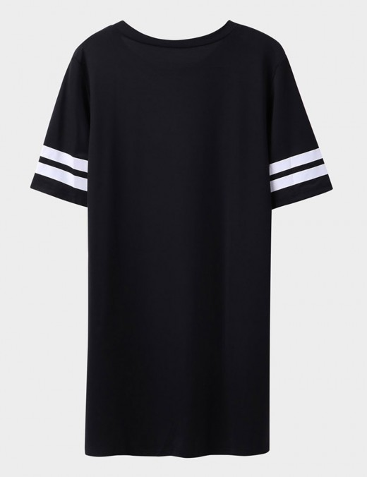 Dainty Faux Cotton Short Sleeved Sleepshirt All Over Soft