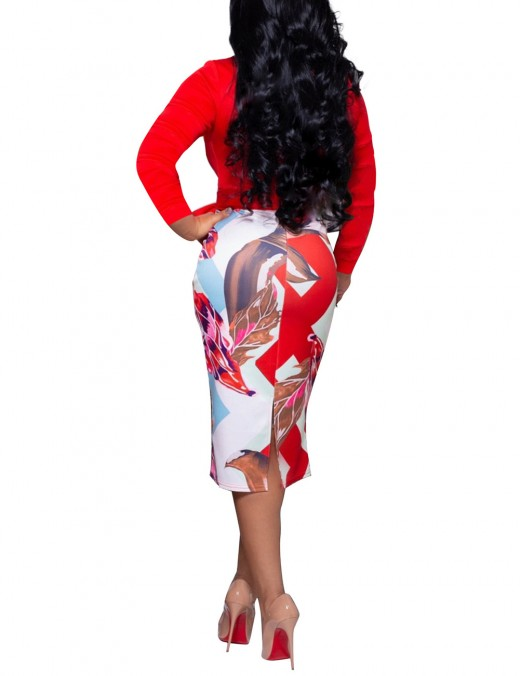 African Fashion Designs Red High Rise Back Zipper Waist Belt For Work