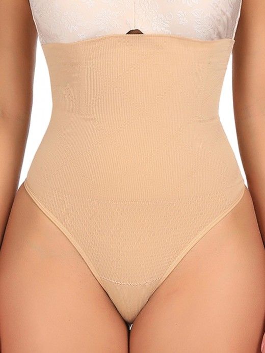 Cellulite Reducing Skin Color High Waist Butt Lifter Big Size Seamless