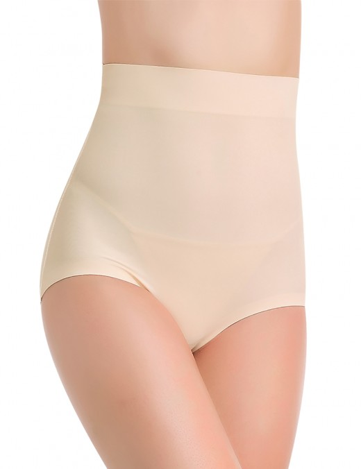 Slimming Stomach Traceless Ice Silk Underwear Lift Bottom