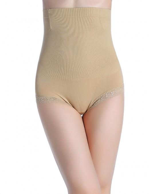 Postpartum Recovery High Rise Nude Slimming Butt Lift Panty