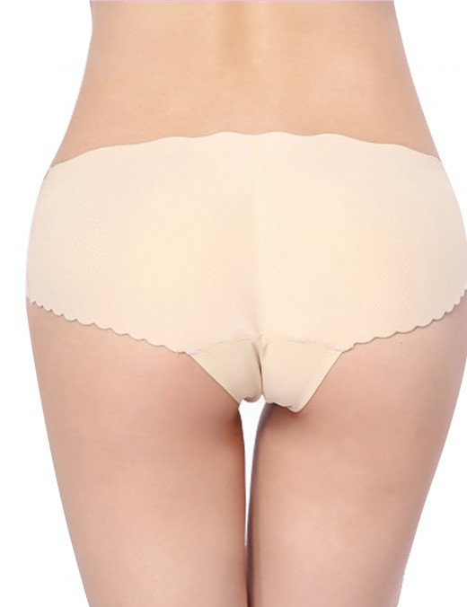 Natural Seamless Engineered Nude Bum Shaping Underwear