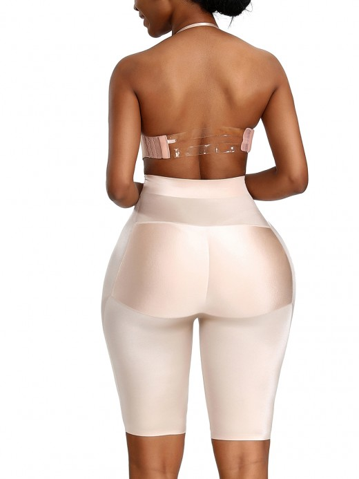 High-Compression Skin Color Under Bust High Rise Panty Shaper Figure Sculpting