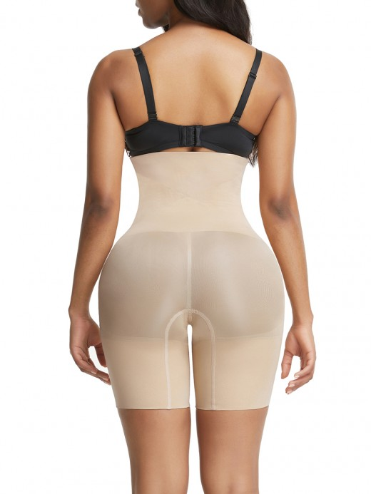 Affordable Skin Color High Waist Large Size Butt Enhancer Secret Slimming