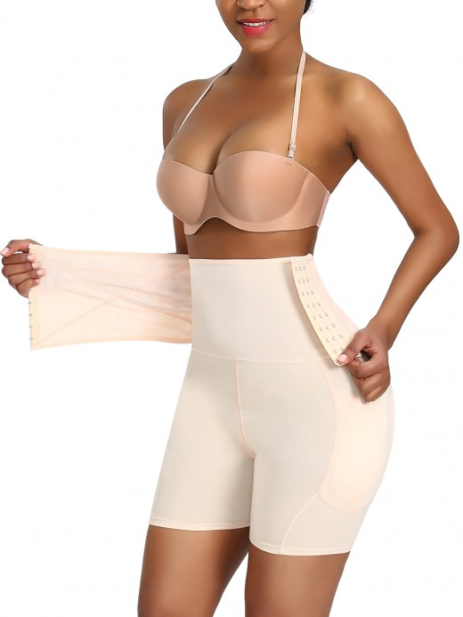 Body Sculpting Skin Color 3 Rows Hooks Butt Lifter Plus Size
