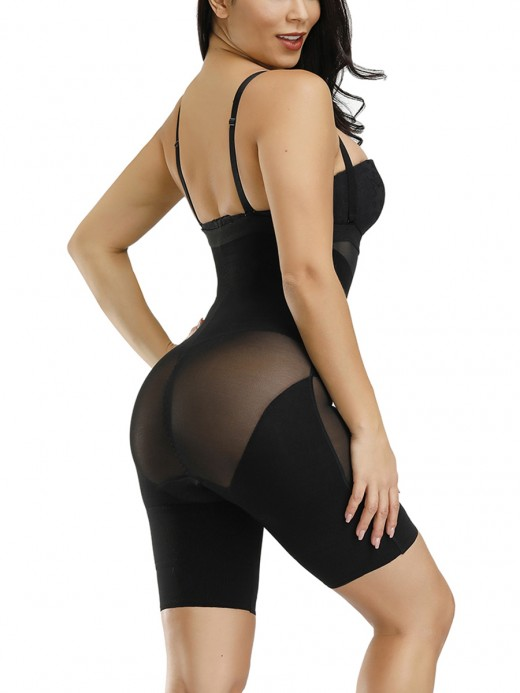 Impeccable Plastic Bones Full Body Shaper Straps For Women