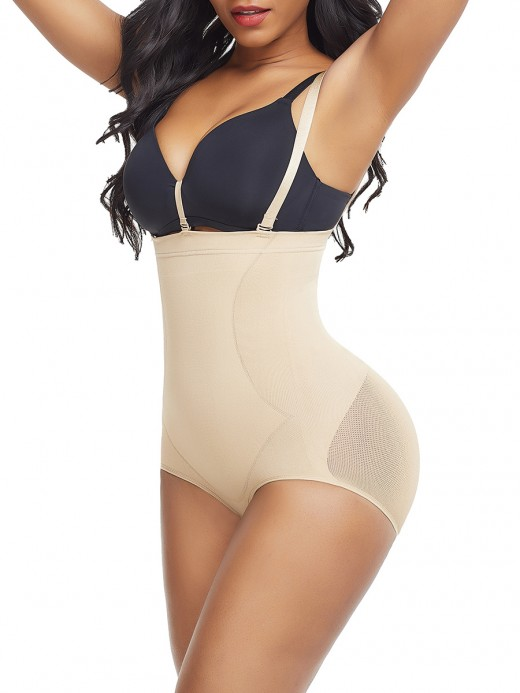 Custom Logo Skin Color Panty Shaper Large Size Underbust Hook