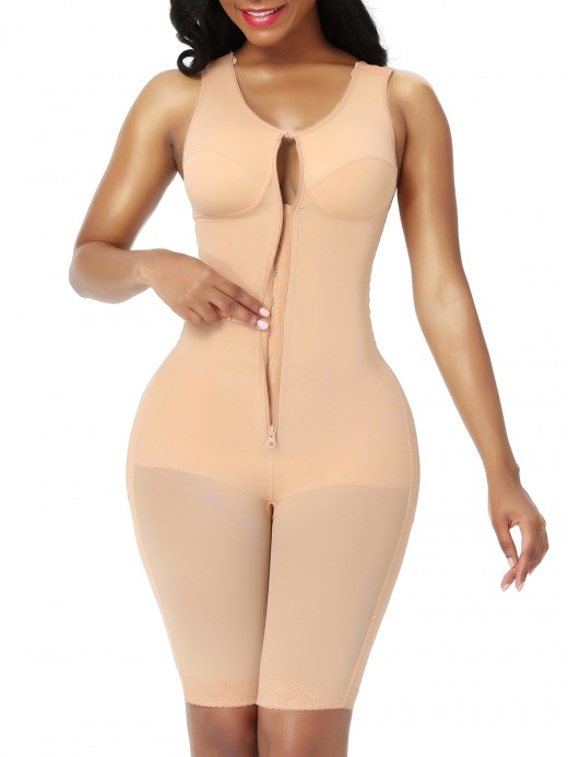 Good Nude Plus Size Mid-Thigh Butt Lift Body Shaper Perfect-Fit