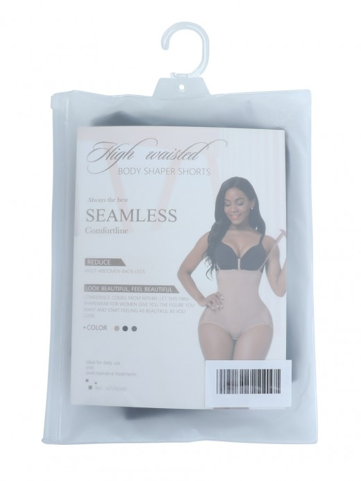 Black Plus Size Seamless Shapewear Bodysuit Anti-Slip Best Materials
