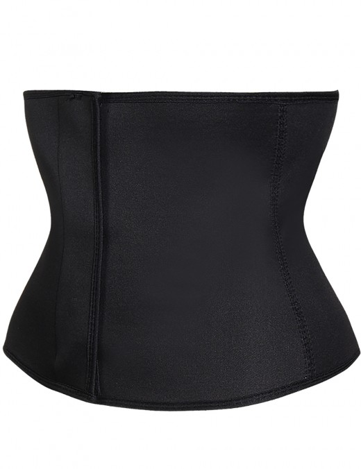 Elastic Black Sticker Closure Waist Slimmer Shaper Plus