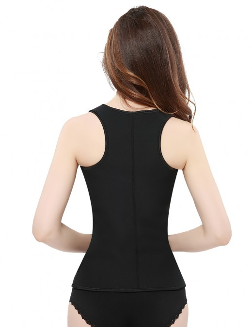 Fat Burn Slimming Neoprene Waist Body Shaper With Vest