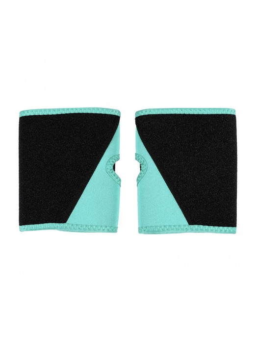 Light Green Neoprene Arm Shaper Sleeves Colorblock Soft-Touch