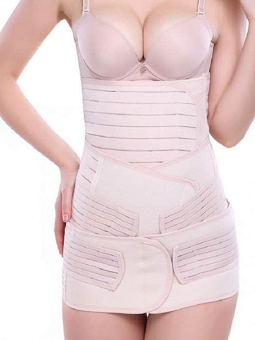 Hourglass 3 Pieces Gastric Pelvis Band Postpartum Waist Girdle