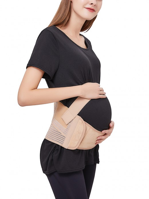 Ultra Sexy Khaki Pregnant Bellyband Two Support Bars Extra Sexy