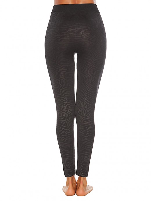 Cool Yoga Leggings Large Size Full Length All Over Smooth