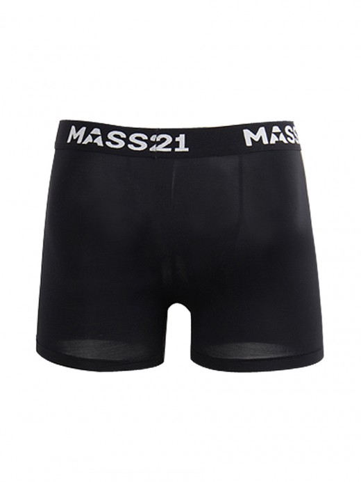 Comfy Black Boxer Briefs High Stretch Letter For Upscale
