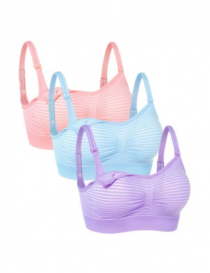 Clip Down Nursing Bras 3 Pack
