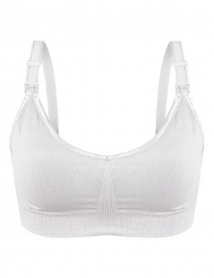 3-Pack Maternity Bras Open Front